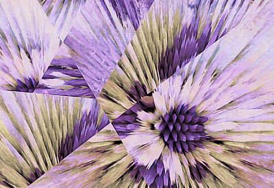 Painting - Crystallized Bloom by Susan Maxwell Schmidt