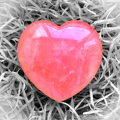 Photograph - Crystallized Heart by Hazy Apple