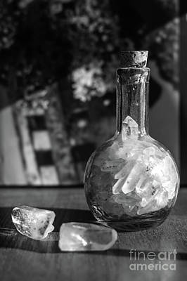 Photograph - Crystals In The Morning Light by Cathie Richardson