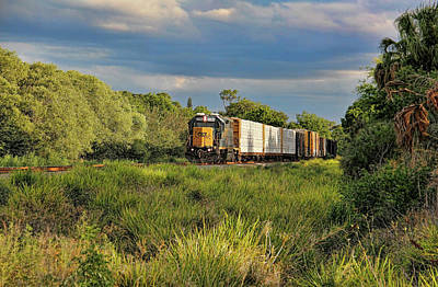 Photograph - Csx 2789 Freight Train by HH Photography of Florida