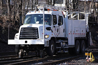 Photograph - Csx 476261 Freightliner by Mike Martin