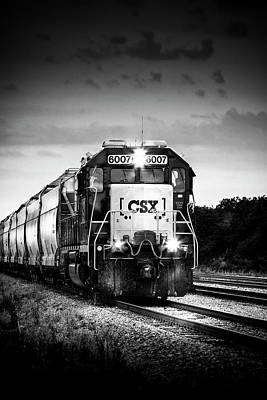 Bed Photograph - Csx 6007 by Marvin Spates