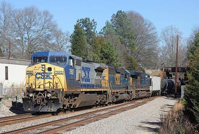 Photograph - Csx 7892 by Joseph C Hinson Photography