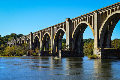 Csx A-line Bridge Art Print