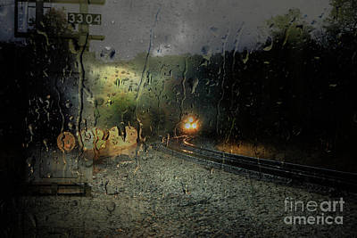 Photograph - Csx And Storm by Rick Lipscomb