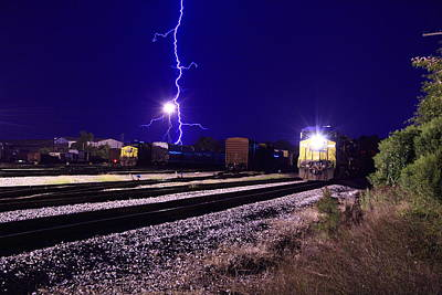 Photograph - Mother Nature And Csx by Joseph C Hinson Photography