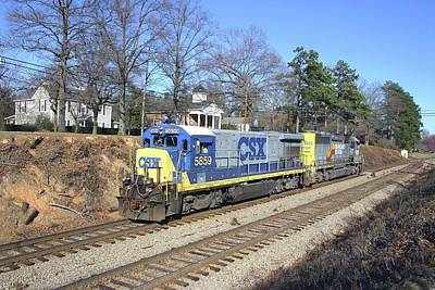 Photograph - Csx Through Waxhaw by Joseph C Hinson Photography
