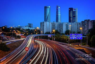 Photograph - Ctba Madrid by Hernan Bua