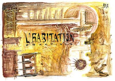 Cuarto Menguante Art Print by Armando Ruiz