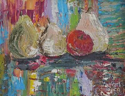 Painting - Cuatro by Judith Espinoza