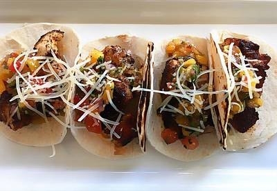 Photograph - Cuatro Tacos by Paul Wilford