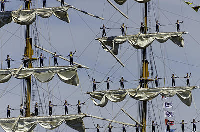 Photograph - Cuauhtemoc Close Up by Steven Richman