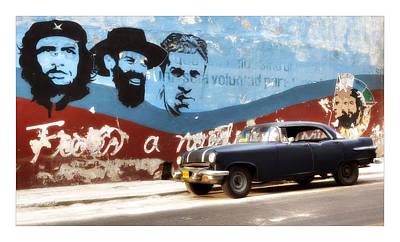 Castro Digital Art - Cuba 08 by Marco Hietberg
