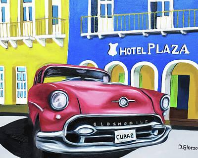Painting - Cuba 2 by Dean Glorso