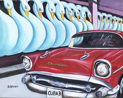 Painting - Cuba-3 by Dean Glorso