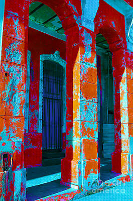 Dilapidated Mixed Media - Cuba Architecture by Chris Andruskiewicz