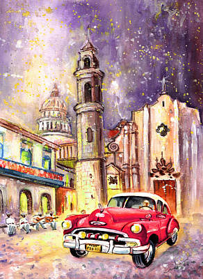 Painting - Cuba Authentic by Miki De Goodaboom