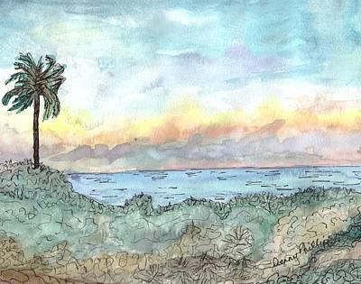 Cuba Beach Art Print by Denny Phillips