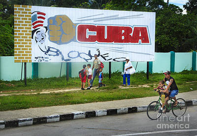 Photograph - Cuba Blockade by Craig J Satterlee