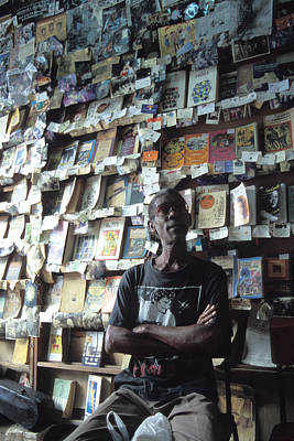 Photograph - Cuba Book Store by Marcus Best