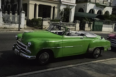 Photograph - Cuba Car 3 by Will Burlingham