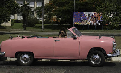 Photograph - Cuba Car 5 by Will Burlingham