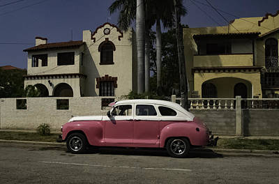 Photograph - Cuba Car 9 by Will Burlingham