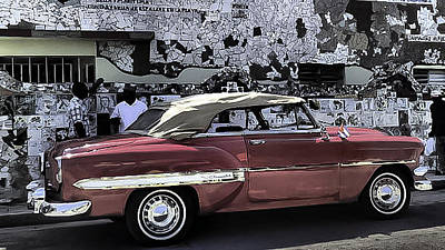 Photograph - Cuba Cars 2 by Will Burlingham