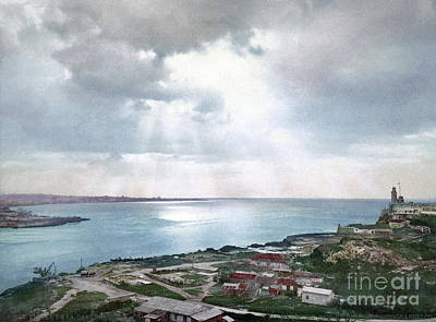 Photograph - Cuba, Coast, C1900.  by Granger
