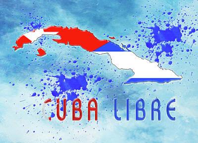 Digital Art - Cuba Libre by Reynaldo Williams