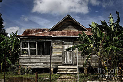 Photograph - Cuba Old Houses by Jose Rey
