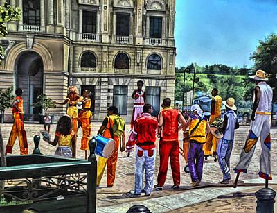 Photograph - Cuba Square by Perry Frantzman