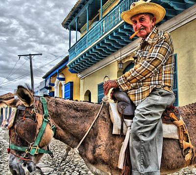 Photograph - Cuban Ass by Perry Frantzman