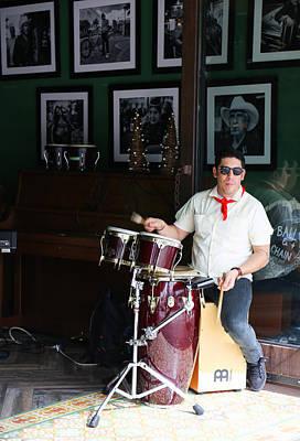 Photograph - Cuban Band by Dart and Suze Humeston