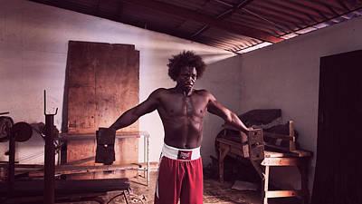 Cuba Photograph - Cuban Boxer In Training by Joan Carroll