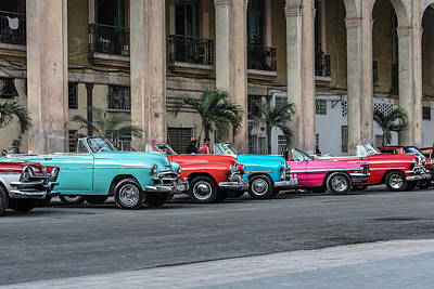 Photograph - Cuban Car Show 2 by Art Atkins