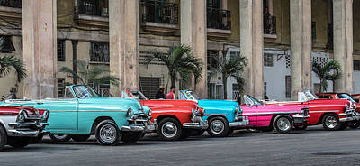 Photograph - Cuban Car Show by Art Atkins