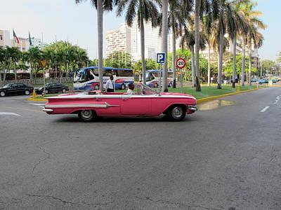 Cuban Cars 3 Art Print