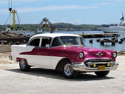 Cuban Cars 4 Art Print