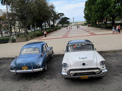 Cuban Cars 5 Art Print