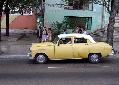 Cuban Cars 6 Art Print