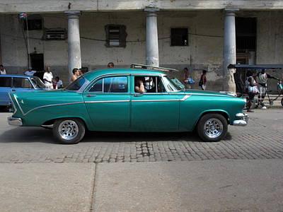 Cuban Cars 9 Art Print