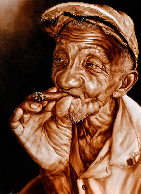 Photograph - Cuban Cigar Maker by Perry Frantzman