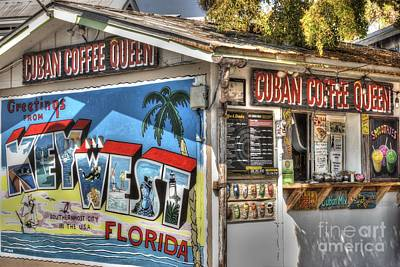 Diner Photograph - Cuban Coffee Queen by Juli Scalzi