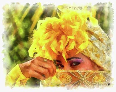 Photograph - Cuban Eyes by Dawn Currie