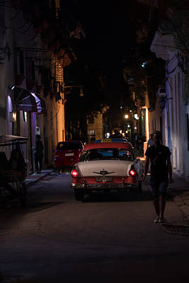 Photograph - Cuban Night Ride by Art Atkins
