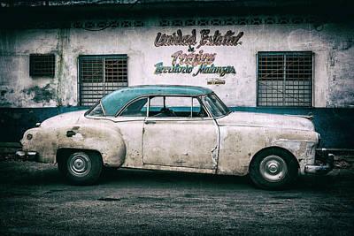 Photograph - Cuban Pontiac At Territorio Matanzas by Erron