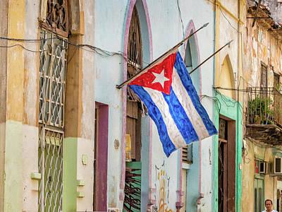 Photograph - Cuban Pride by Robin Zygelman