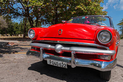 Photograph - Cuban Red by David Warrington
