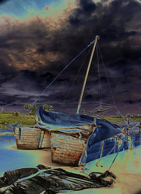 Photograph - Cuban Refugee Raft 4 by Susan Garrett